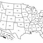 Inspirational Printable Us State Map Blank Us States Map   Printable United States Map Pdf