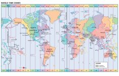 Inspirational Us Map With Time Zone Lines World Time Zone Map   World Map Time Zones Printable Pdf