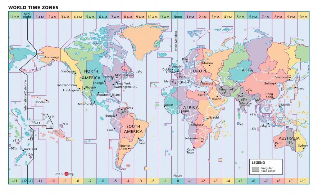 Inspirational Us Map With Time Zone Lines World Time Zone Map - World Map Time Zones Printable Pdf