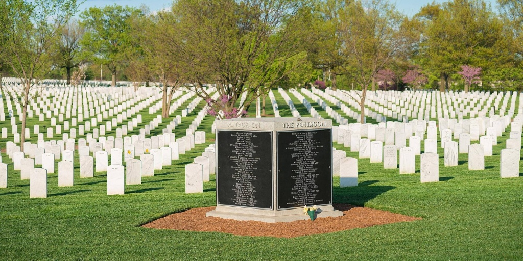 Interactive Arlington National Cemetery Map With 360 Street View - Arlington Cemetery Printable Map