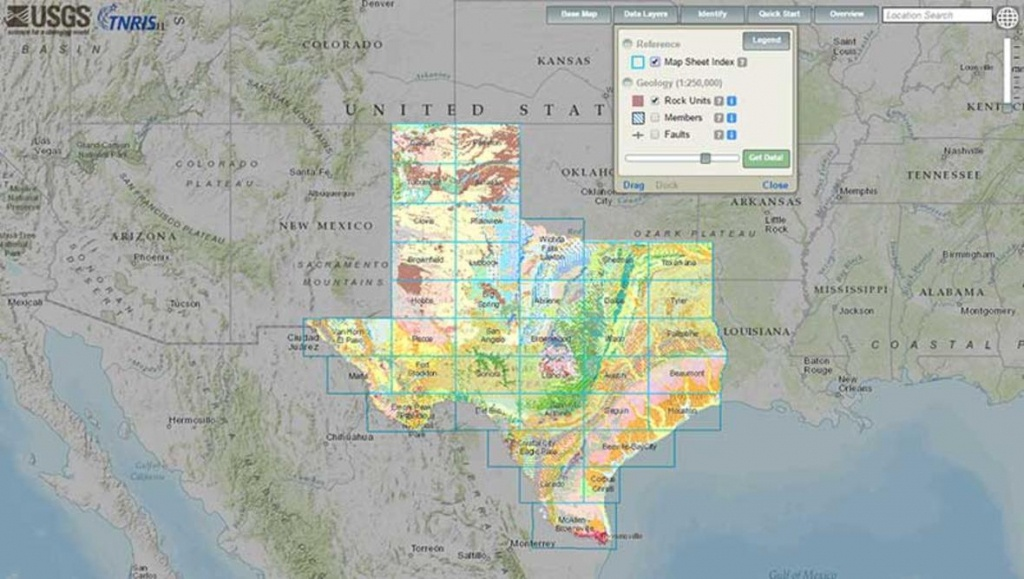 Interactive Geologic Map Of Texas Now Available Online - Texas Geological Survey Maps
