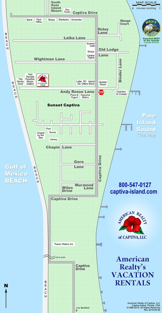 Interactive Map: Captiva, Florida (Amrc) - Florida Vacation Map