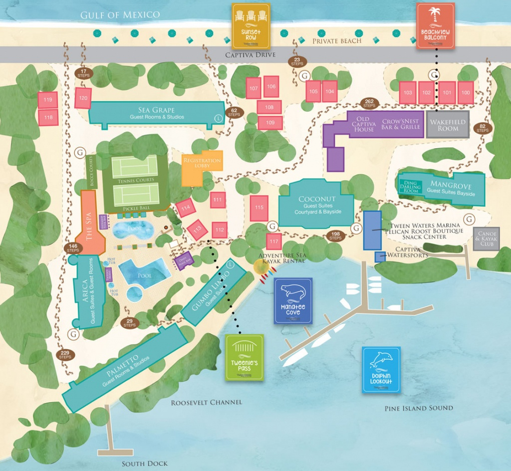 Interactive Map - Captiva Island Resort - 'tween Waters Inn, Sanibel - Seaside Florida Google Maps