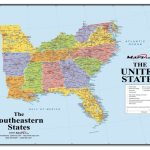 Interactive Map Of Southeastern United States | World Map   Printable Map Of Southeast United States