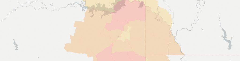 Internet Providers In Atlanta, Tx: Compare 12 Providers - Atlanta Texas Map