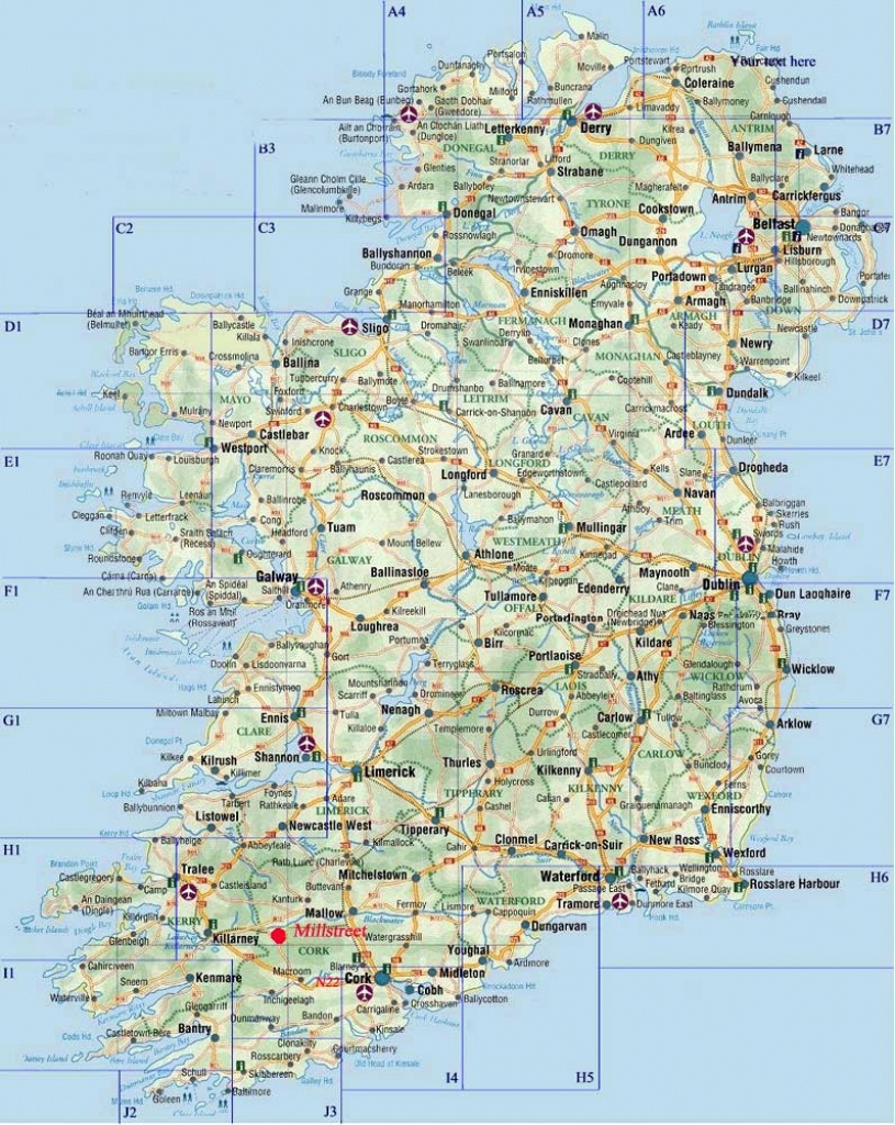 Ireland Maps | Printable Maps Of Ireland For Download - Free Printable Map Of Ireland