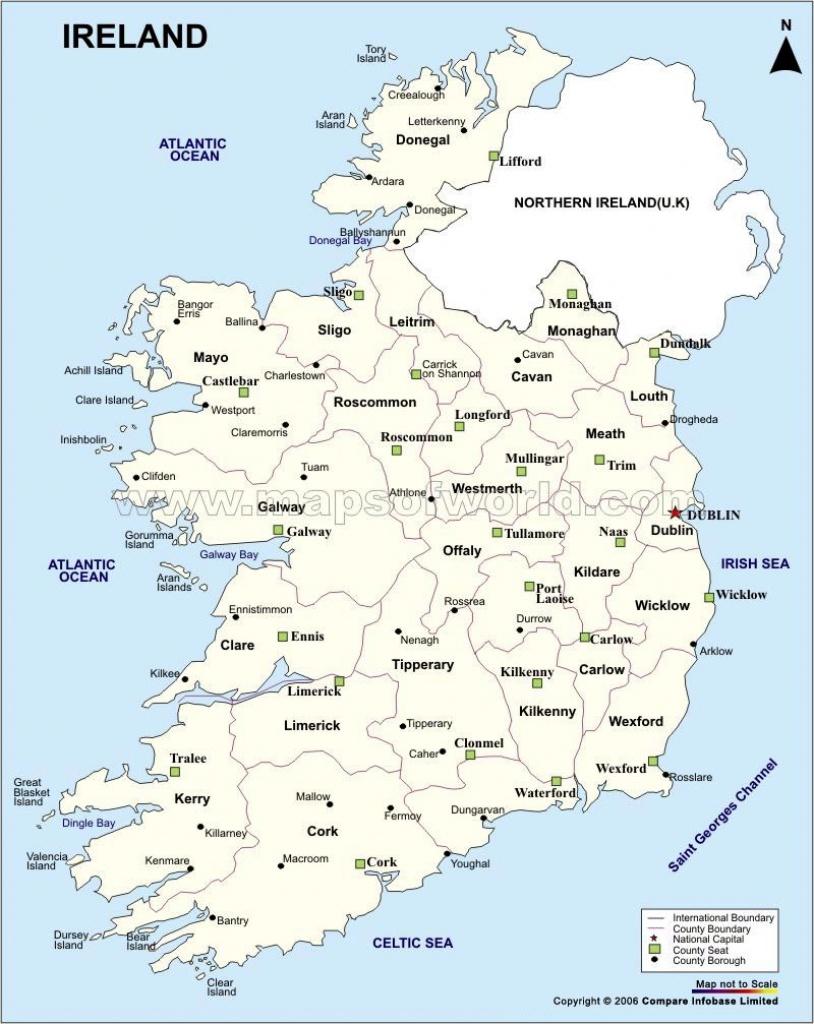 Ireland Maps   Printable Maps Of Ireland For Download - Printable Blank Map Of Ireland