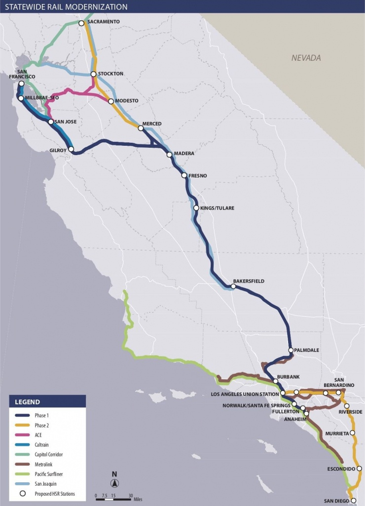 Is California High-Speed Rail Still Happening? - Curbed - California Rail Pass Map