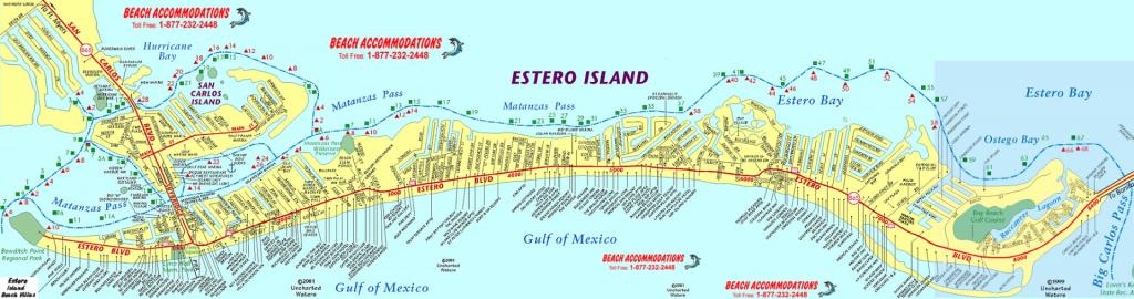 Island Map & Weather | Beach Accommodations Vacation Rentals | Fort - Captiva Island Florida Map