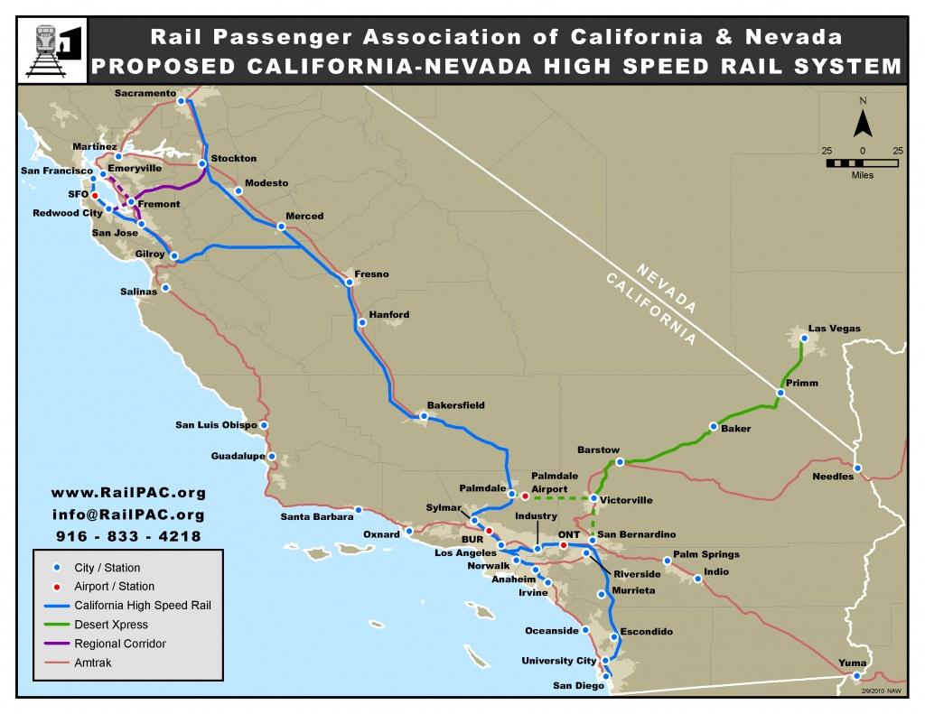 Issues – Railpac - Amtrak California Surfliner Map