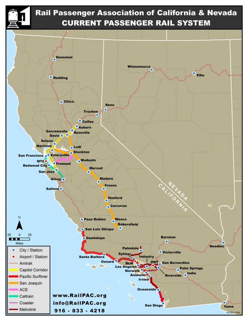 Issues – Railpac - Amtrak Train Map California