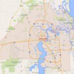 Jacksonville, Florida Map   Google Maps Port Charlotte Florida