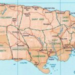 Jamaica Maps | Printable Maps Of Jamaica For Download   Free Printable Map Of Jamaica