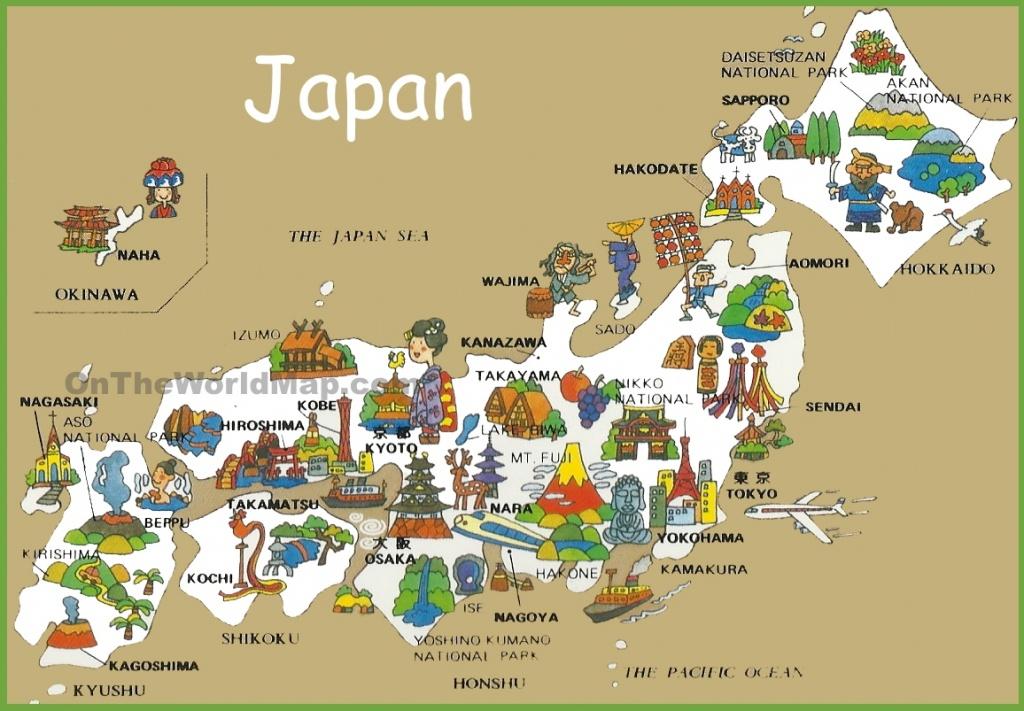 Japan Maps | Maps Of Japan - Large Printable Map Of Japan