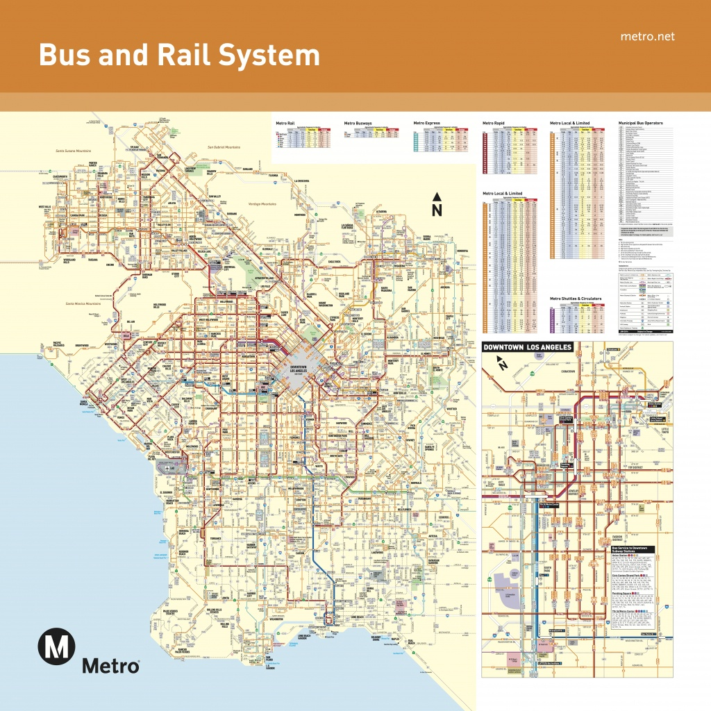 June 2016 - Bus And Rail System - Maps - Southern California Train Map