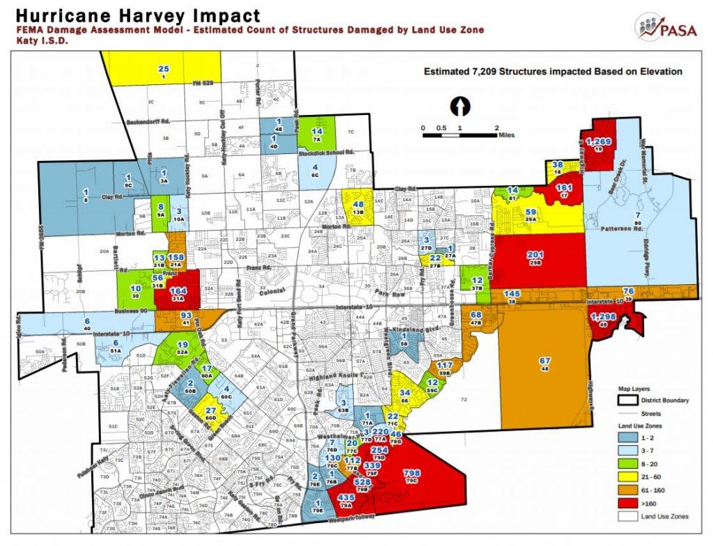 Katy Flood Zones - Katy Texas Map