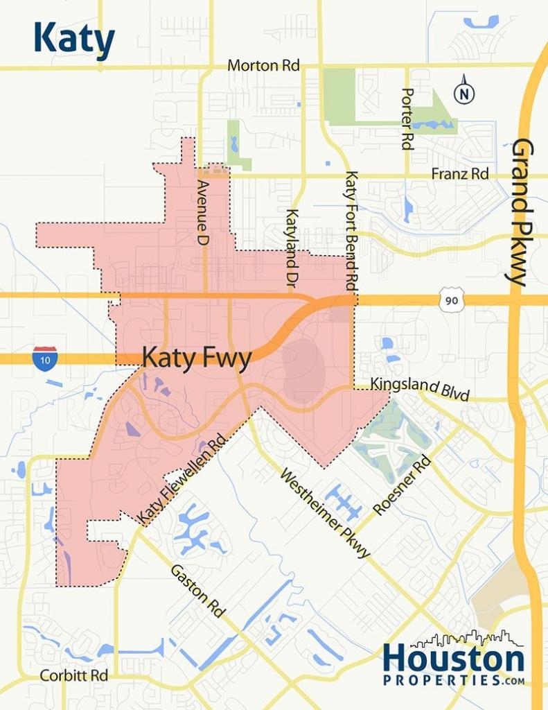 Katy Tx Neighborhood Map | Great Maps Of Houston In 2019 | Houston - Katy Texas Map