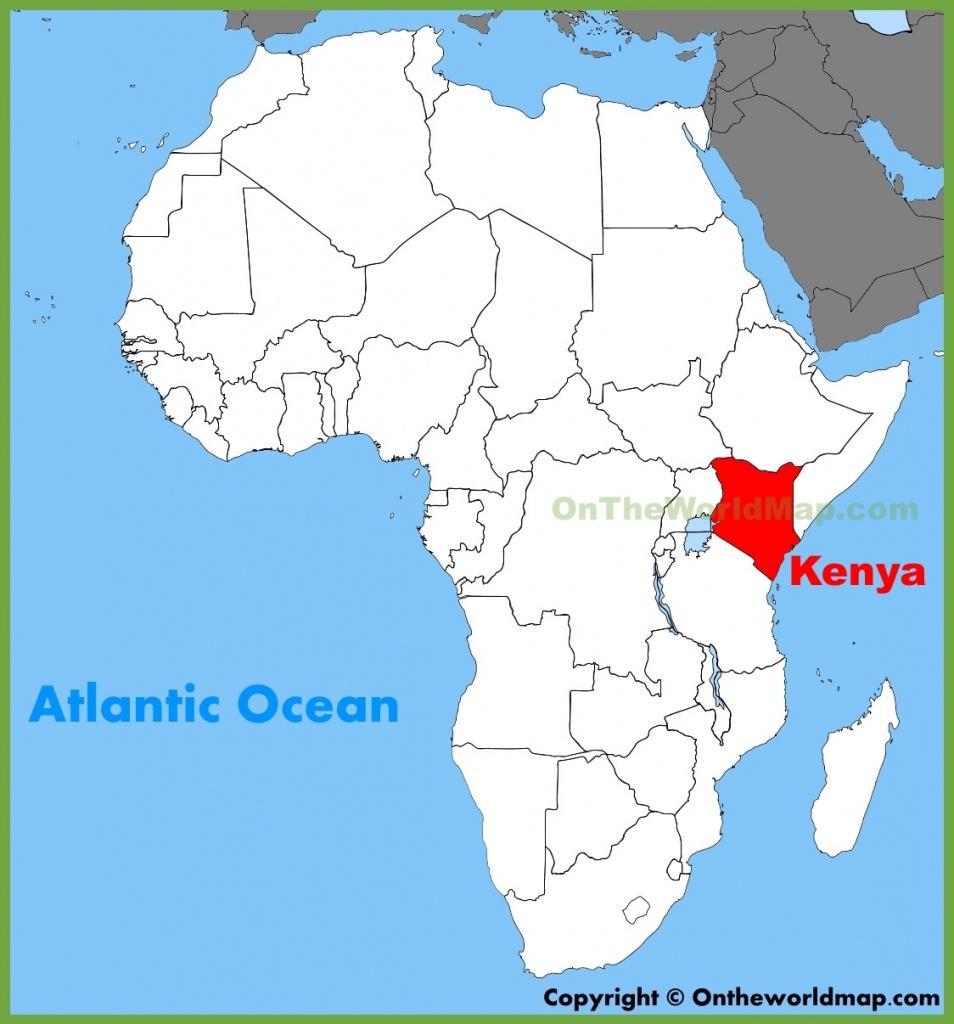 Kenya Maps | Maps Of Kenya - Printable Map Of Kenya