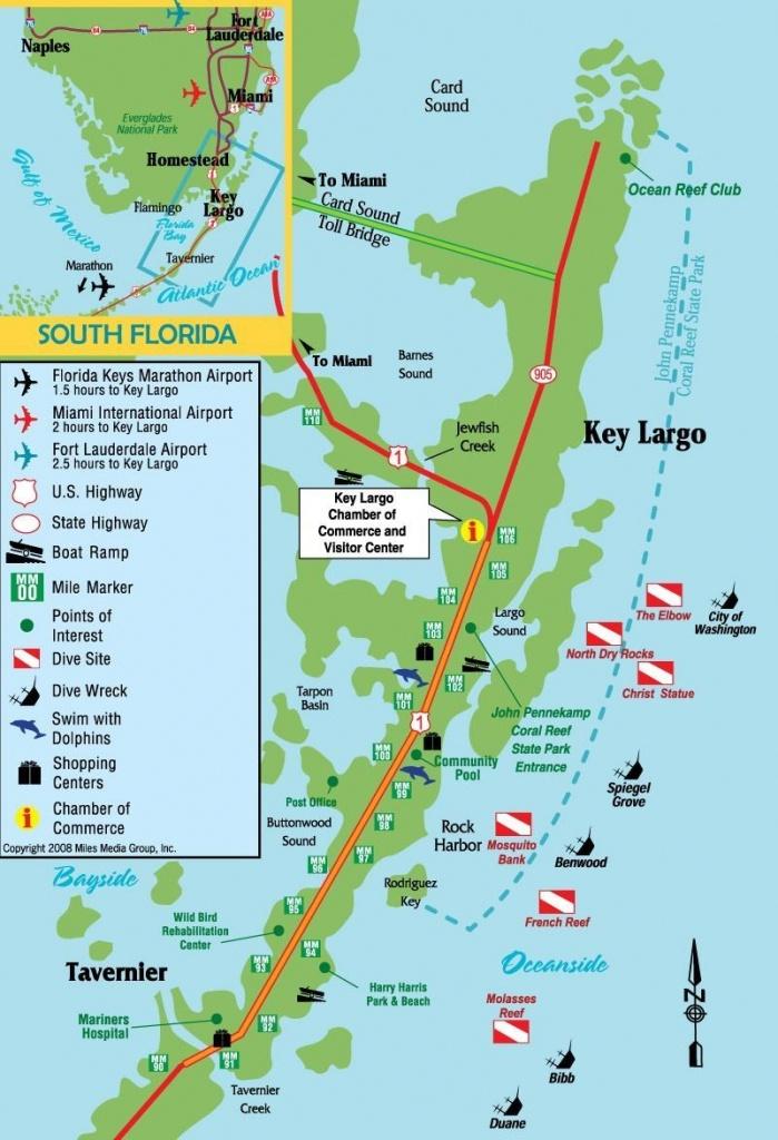 Key Largo, Florida | Travel In 2019 | Key Largo Florida, Florida - Cayo Marathon Florida Map