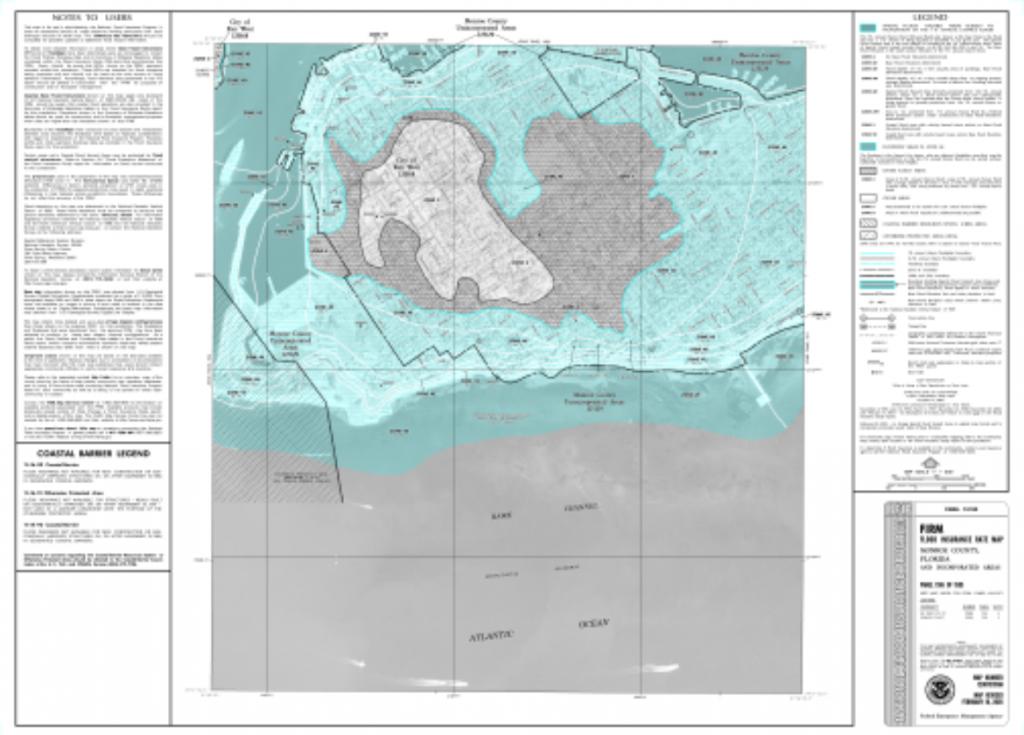 Key West Flood Zones & Insurance Explained – Krystal Thomas | Key West - Florida Keys Flood Zone Map
