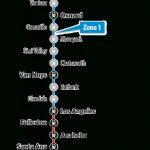 Kids N Trains On Pacific Surfliner | Amtrak   Amtrak California Surfliner Map