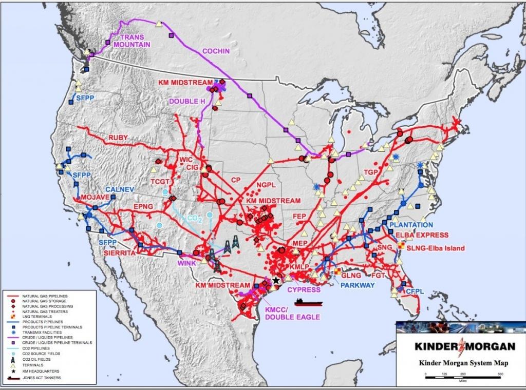 Kinder Morgan Pipeline Map | Website Map - Kinder Morgan Pipeline Map Texas