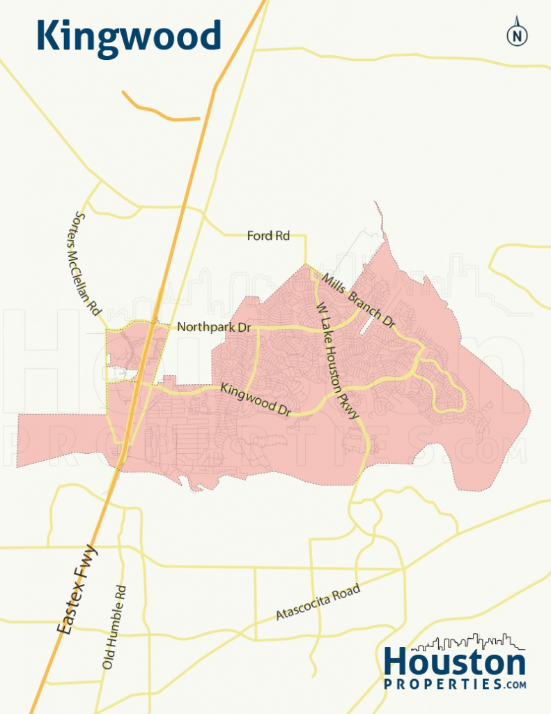 Kingwood Tx Real Estate, Neighborhood, & Homes For Sale - New Caney Texas Map
