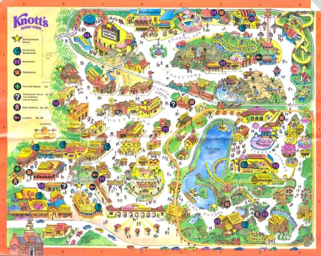 Knotts Berry Farm, Buena Park Ca | Favorite Places In 2019 | Knotts - Knotts Berry Farm Map California