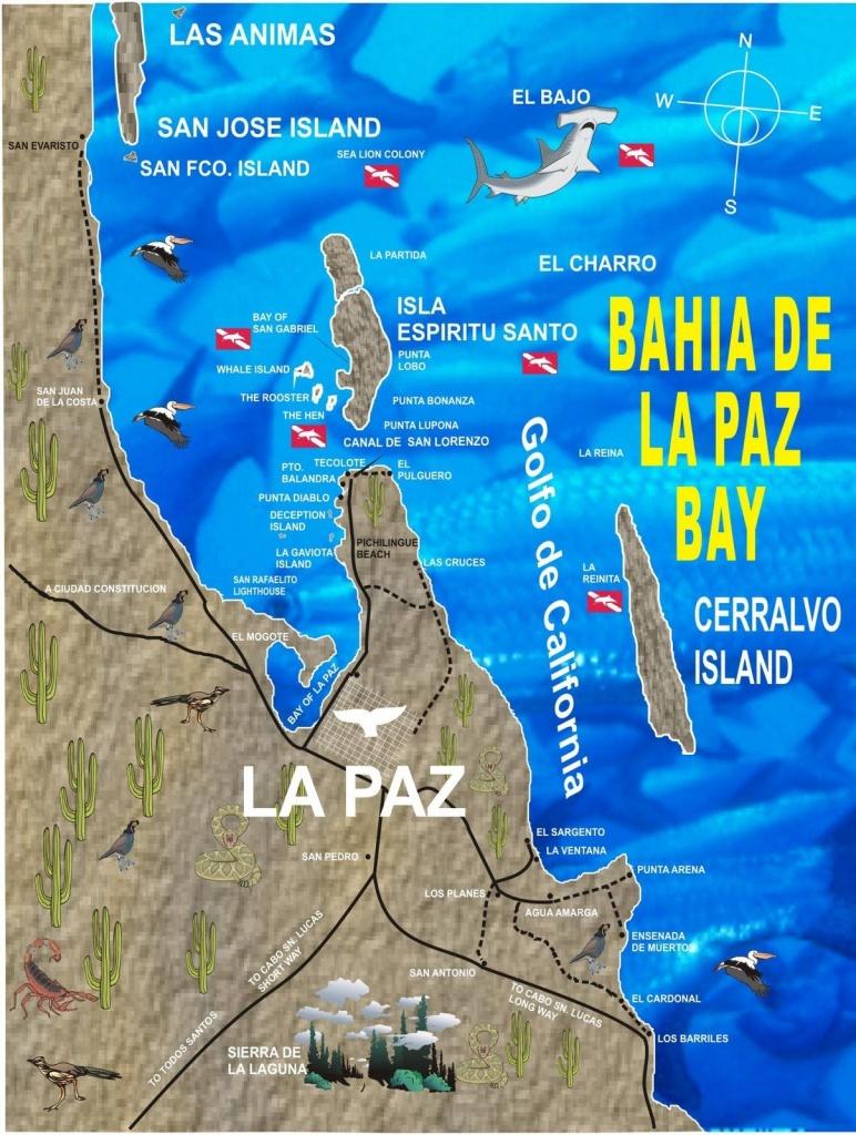 La Paz Baja California Mexico |  Californio: La Paz, Baja - La Paz Baja California Map