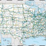 La To Nyc: Across The Us In 4 Days Flat | Highway Map | Interstate   Printable Us Road Map