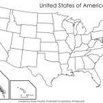 Label Map Of The Us Worksheet Blank Us Map Quiz Printable At Fill In   Us State Map Quiz Printable