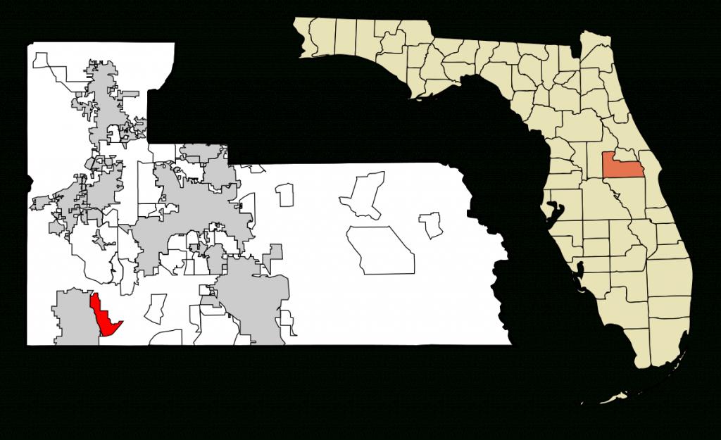 Lake Buena Vista, Florida - Wikipedia - Orange Lake Florida Map