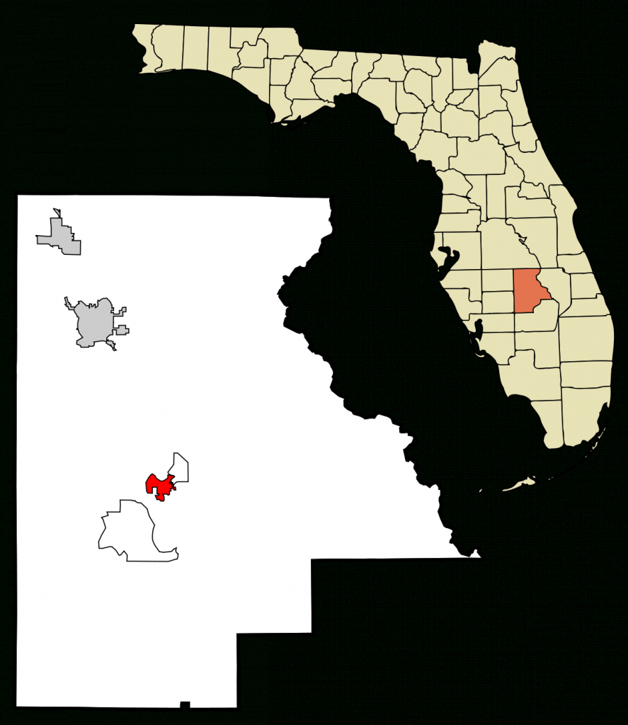 Lake Placid, Florida - Wikipedia - Lake Wells Florida Map