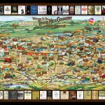 Laminated Texas Wine Map | Texas Wineries Map |Texas Hill Country   Texas Hill Country Wineries Map