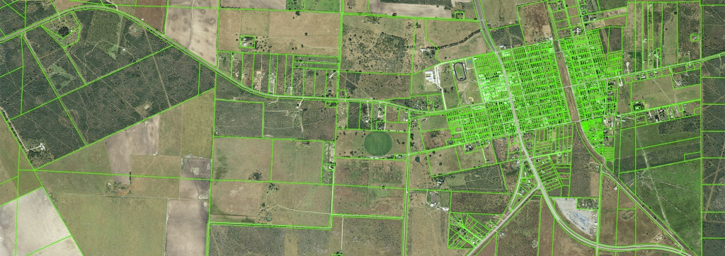 Land Parcels | Tnris - Texas Natural Resources Information System - Texas Land Ownership Map