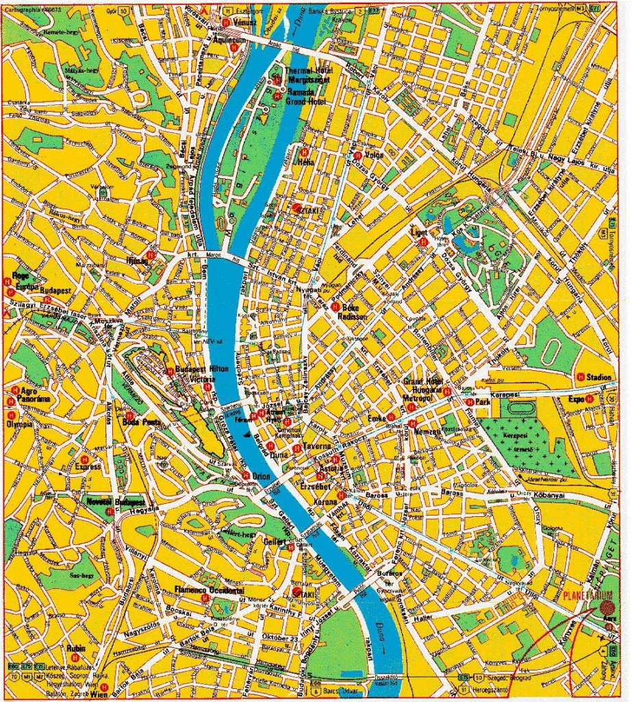 Large Budapest Maps For Free Download And Print | High-Resolution - Printable Map Of Budapest