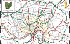 Large Cincinnati Maps For Free Download And Print | High Resolution   Printable Cincinnati Map