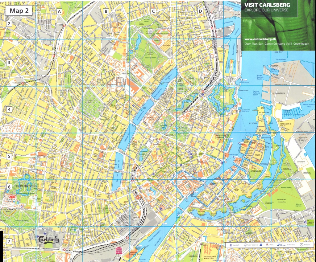Large Copenhagen Maps For Free Download And Print | High-Resolution - Copenhagen Tourist Map Printable