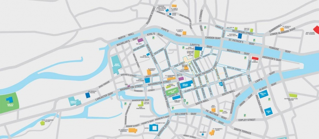 Large Cork Maps For Free Download | High-Resolution And Detailed - Cork City Map Printable