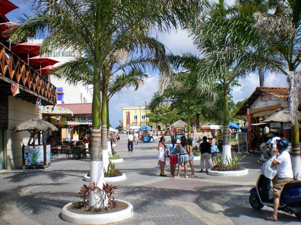 Large Cozumel Maps For Free Download And Print   High-Resolution And - Printable Street Map Of Cozumel