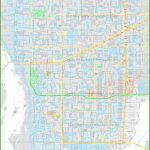 Large Detailed Map Of Cape Coral   Street Map Of Cape Coral Florida