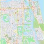 Large Detailed Map Of Jupiter   Jupiter Inlet Florida Map