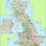 Large Detailed Map Of Uk With Cities And Towns   Printable Road Maps Uk