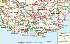 Large Detailed Map Of Victoria With Cities And Towns   Printable Map Of Victoria