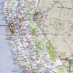 Large Detailed Road And Highways Map Of California State With All   California State Road Map