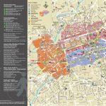 Large Detailed Tourist Map Of Edinburgh City. Edinburgh City Large   Edinburgh City Map Printable