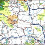 Large Detailed Tourist Map Of Wyoming With Cities And Towns   Printable Map Of Wyoming