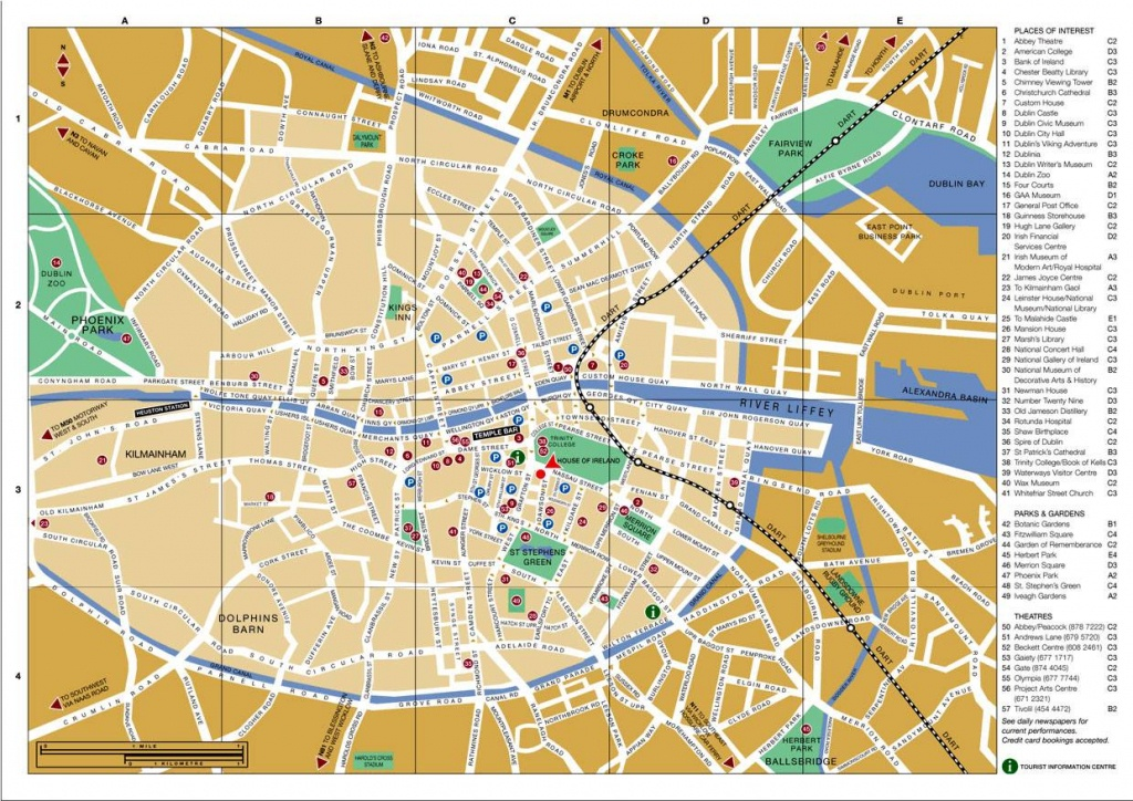 Large Dublin Maps For Free Download And Print | High-Resolution And - Printable Map Of Dublin