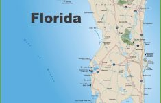 Large Florida Maps For Free Download And Print | High Resolution And   Map Of Florida West Coast Towns