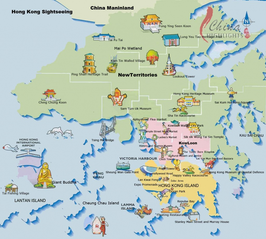 Large Hong Kong City Maps For Free Download And Print | High - Hong Kong Tourist Map Printable